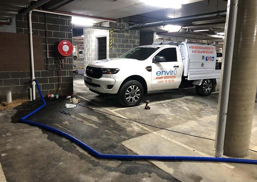 emergency pump services sydney